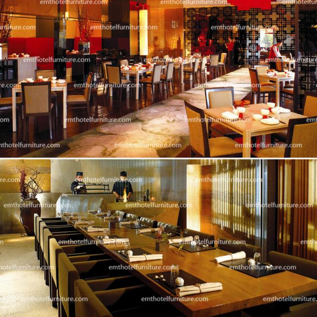 Hospitality Design Hotel Dining Furniture Restaurant Table And Chair