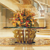Shunde Furniture Manufacturer Modern Furniture Hotel Decor Lobby Table Flower Desk