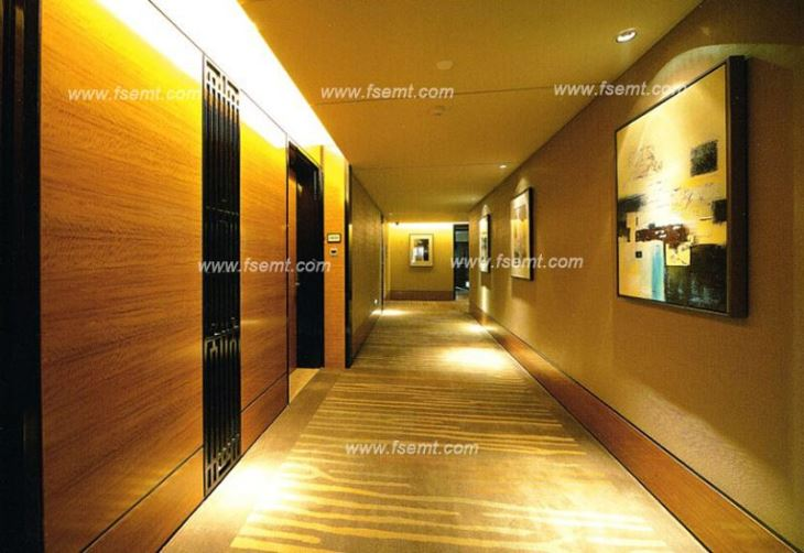 High Class Hotel Public Area Wooden Wall Panels
