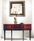 Wood Hotel Furniture Chinese Antique Hand Carved Console Table