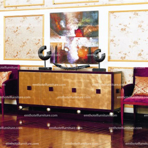 China Luxurious Star Hotel Furniture Lobby Furniture Console Table Furniture Row