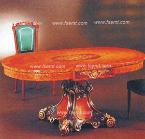 5 Star Hotel Noble Wooden Flower Table