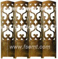 Traditonal Chinese Antique Elegant Folded Screen/Partition/Separation for Hotel Public